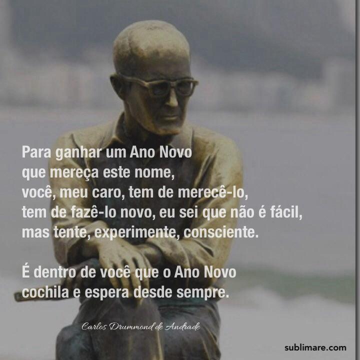 Receita de Ano Novo, Carlos Drummond de Andrade