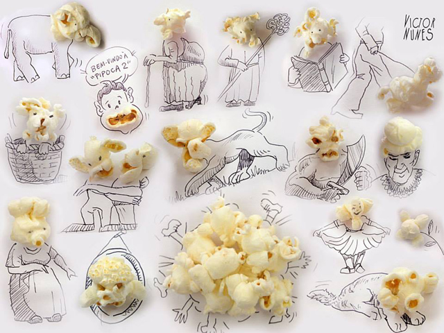 1 - Victor Nunes Faces (Popcorn)