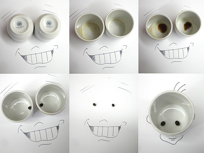 2 - Victor Nunes Faces - Coffee Cups